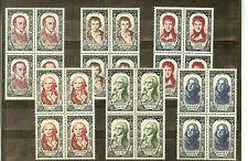 YVERT N° 867 A 72 TIMBRES FRANCE NEUFS sans CHARNIERES COTE € 384