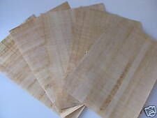 "5 Egyptian Plain Papyrus Paper for Painting 4"" X 6"""