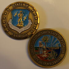 Florida Air National Guard Challenge Coin     St