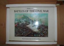 BATTLES of the CIVIL WAR Kurz & Allison Prints LTD Edition Numbered NIB NEW