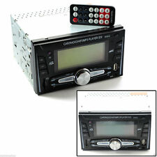 STEREO AUTORADIO AUTO 2 DIN USB SD FM MP3 AUX 45Wx4 2 RCA LETTORE SD MP3-9002