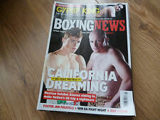 March Boxing News Magazines