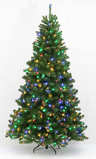 Mehrfarbige Weihnachtsbäume