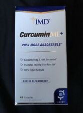 1MD Longvida Optimized Curcumin MD+   285x More Absorbable Joint Health Capsules