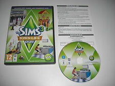 THE SIMS 3 TOWN LIFE STUFF Add-On Expansion Pack Pc DVD Rom / MAC  FAST POST