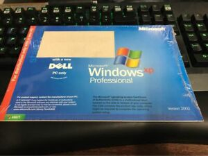 Dell Microsoft Windows XP Pro Restore Recovery CD Disc Sealed