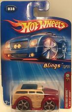 HOT WHEELS 2005 FIRST EDITIONS BLINGS BLOCK 'O WOOD 8/10  #038 FACTORY SEALED