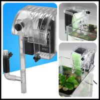 Hang On Aquarium Filter Water Filter System Fish Tank Waterfall Fish Tank  IDD