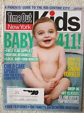 Time Out New York Kids Magazine 51 January 2010 Baby 411!