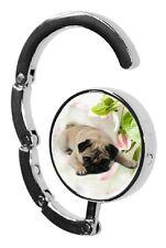 Pug Dog Table Bag Handbag Purse Hanger Hook-1 by paws2print