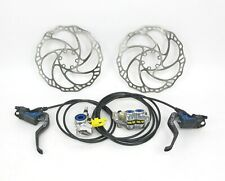 Magura MT Trail Carbon Hydraulic MTB Disc Brakeset 180mm Rotors - Front and Rear