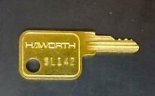 Haworth Furniture Lock Keys - SL series - SL001 thru SL275 - (read description)