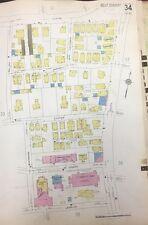 1928 Boston Jamaica Plain, Ma. Murphy Playground St Thomas Church Atlas Map