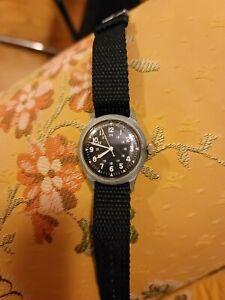 1965 Vietnam Military Watch Running Vintage Swiss Mens Wristwatch March Non...
