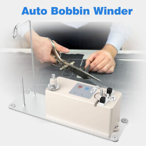 Bobbin Winder & Thread Stand Electric Automatic For Sewing Machine Thread Tool
