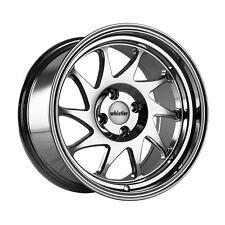 15x8 Whistler KR7 4x100 +0 Chrome Wheels (Set of 4)