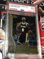 1996 Bowman's Best Kobe Bryant Los Angeles Lakers RC R23 Rookie PSA 9 RARE MINT!