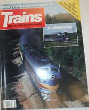Trains Magazine Jet-Powered RDC & George Weekly February 1989 021115R