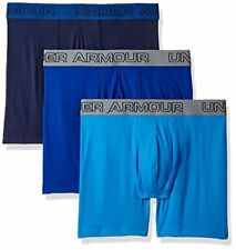 Under Armour Charged Cotton Stretch 6in Boxerjock 3 Packs Hommes Sous-vêtements Medium