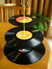 Rock & Roll Party  Gear - Record Cake or Novelty 3 Tier Stands