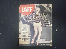 1939 DECEMBER LAFF MAGAZINE - ISSUE #1 - ST 4499