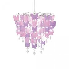 Easy Fit Universal Pink Butterflies Light Decoration Ceiling Lamp Chandelier Pen