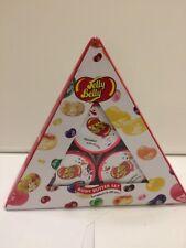 Jelly Belly Triangolo 3x Set regalo Corpo Burro di Cocco e Cioccolato Budino Vaniglia FR NUOVO