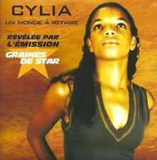 CD CARTONNE CYLIA (TV) 2T (HALLYDAY) (ADAM ET EVE) COMME NEUF