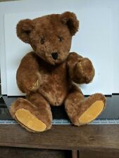 """1987 The Vermont Teddy Bear Co. 21"""" Fully Jointed Bear with Tags. Super Rare."""