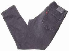 LEVI'S Mens 511 Jeans W36 L32 Black Cotton Slim  MH15
