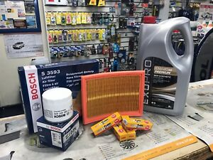 SERVICE KIT FORD FOCUS M2 1.2, 1.4, 1.6, 2004-2012 oe quality filters BOSCH