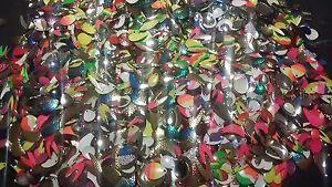 100 Walleye Spinner Blades - Assorted Blades