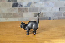 Antique Wedgwood Black Basalt Cat by Ernest Light (c.1915)