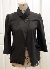 Cue Grey Jacket. Size 10