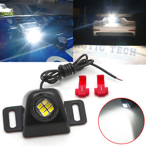 Flush Mount Mega-Bright 5W LED Lighting Kit For Car Truck As Backup or Driving