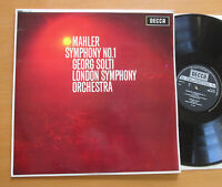 SXL 6113 Mahler Symphony no. 1 Georg Solti London Symphony EXCELLENT Decca LP