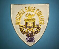 Rare 1996 Russel Sage College Iron On Embroidered Patch Crest