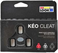 2020 Genuine LOOK KEO Bi-Material Cleat Set Fit Classic, 2 Max: FIXED 0° BLACK