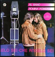 Al Bano & Romina Power LP Che Angelo Sei - France