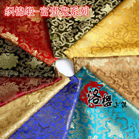 Brocade Cloth Baby Clothes Kimono Cos Silk Satin  Sewing Damask Rich Fabric
