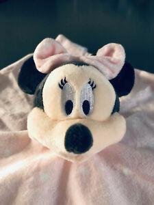 Disney Minnie Mouse Baby Blanket Comfort Cuddly Tender Pink Primark