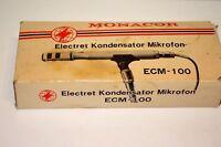 Monacor Electret Kondensator Mikrofon ECM-100 - AV001897