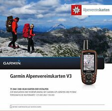 Garmin Topo Alpes Club cartes Grille carte v3 MicroSD/SD