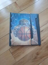 Vintage 1991 Mead Trapper Keeper Portfolio Notebook No Rules Tiger Basketball