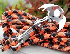 Multifunctional Survival Folding Grappling Hook Climbing Claw Outdoor Carabiner