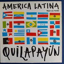 "Quilapayún – America Latina (Vinyl, 12"", MAXI 45 TOURS)"