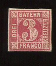 Al7) AD Bavaria MiNr 9b Unused NG