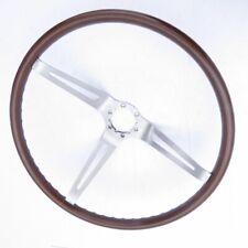 GM NEW Classic 16 inch Woodgrain Steering Wheel w/Stepped Hub 1967-1968