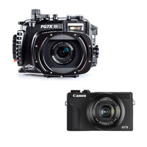 Fantasea FG7X III Underwater Housing AND Canon G7X III Camera