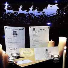 HARRY POTTER Hogwarts Personalisiert Acceptance Brief Weihnachten